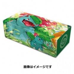 Pokemon Longue Deck Box Florizarre japan plush