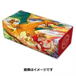 Pokemon Long Deck Case Charizard japan plush
