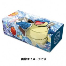Pokemon Longue Deck Box Tortank japan plush