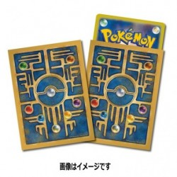 Pokemon Card Sleeves Antic Design japan plush
