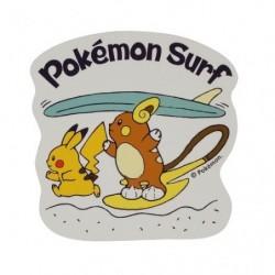 Sticker Pokémon Surf Pikachu Raichu japan plush