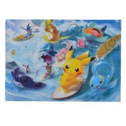 A4 Clear File Pokémon Surf japan plush