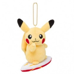 Keychain Plush Pikachu Pokémon Surf japan plush