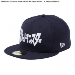 CASQUETTE NEW ERA 59FIFTY TITLE NVY japan plush