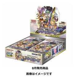 Dream League Display Box Pokemon Trading Card Game SM11b japan plush