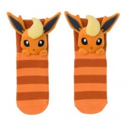 Socks Flareon Face japan plush
