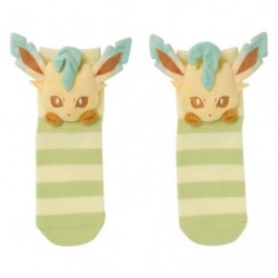 Socks Leafeon Face japan plush