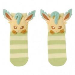 Socks Leafeon Face japan plush