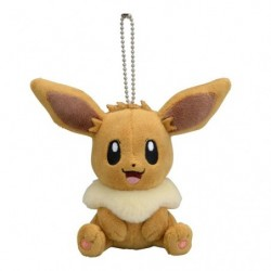 Plush Keychain Eevee Sit japan plush