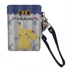 Pass Case Pikachu Ribbon japan plush