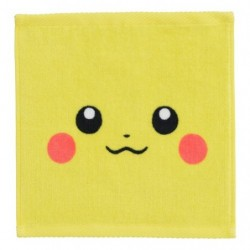 Hand Towel Pikachu Face japan plush