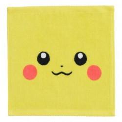 Hand Towel Pikachu Face japan plush