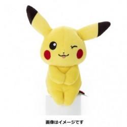 Peluche Pikachu Clin d'oeil japan plush