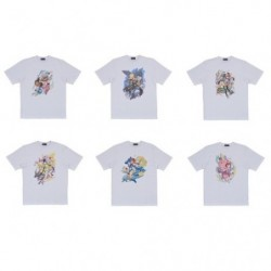 T-shirt aléatoire Pokémon Trainers - Personnages féminins japan plush
