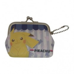 Wallet Gamaguchi Pikachu japan plush