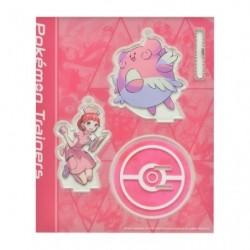 Acrylic keychain Pokémon Trainers PokéCenter Nurse and Blissey japan plush
