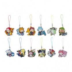 Keychain rubber Pokemon Trainers BOX japan plush