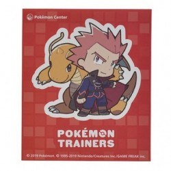 Sticker Pokémon Trainers Lance and Dragonite japan plush
