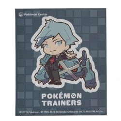 Sticker Pokémon Trainers Steven Stone and Metagross japan plush