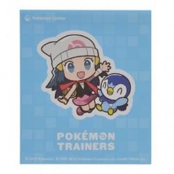 Sticker Pokémon Trainers Aurore et Tiplouf japan plush