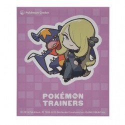 ステッカー Pokémon Trainers Cynthia et Carchacrok japan plush