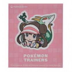 Sticker Pokémon Trainers Écho et Majaspic japan plush