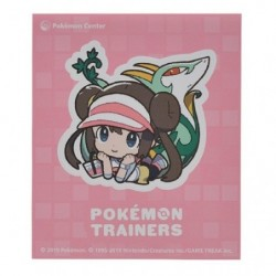 Sticker Pokémon Trainers Rosa and Serperior japan plush