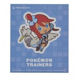 Sticker Pokémon Trainers Carolina et Lakmécygne japan plush