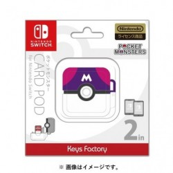 Card pod for Nintendo Switch Master ball japan plush