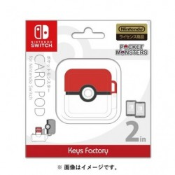 Card pod for Nintendo Switch Pokéball japan plush