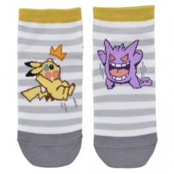 Short Socks Gengar Cool and Pikachu japan plush