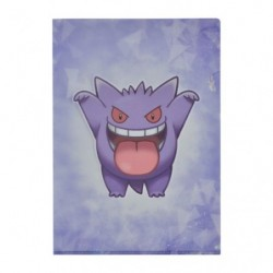A4 Clear File Cool Gengar japan plush