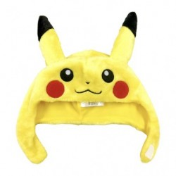 Pikachu Hat Cosplay KIDS size japan plush