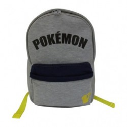 D Bagpack Sweat Logo Gray japan plush