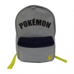 D Bagpack Sweat Logo Gray japan plush