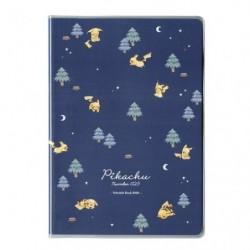 B6 Cahier Note Pikachu number 025 Foret de Nuit japan plush