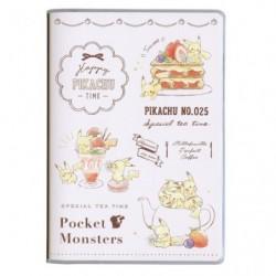 B6 Cahier Note Pikachu number 025 Sweet japan plush