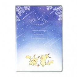 B6 Cahier Note Pikachu number 025 Etoile japan plush
