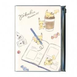 B6 Cahier Note Pikachu number 025 Rider Pocket japan plush