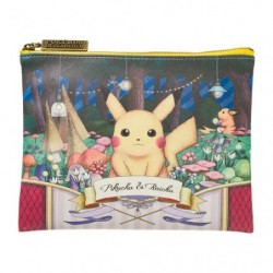 Pochette Plate Pokemon Pikachu Raichu Researcher Collection japan plush