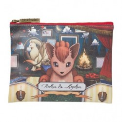 Flat Pocket Pokemon Vulpix Ninetales Researcher Collection japan plush