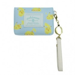Open Pass Case Pikachu japan plush