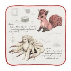 Hand Towel Pokemon Vulpix Nintales Researcher Collection japan plush
