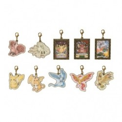 Metal Keychain Pokemon Researcher Collection BOX japan plush