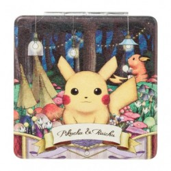 Mirroir de Poche Pokemon Pikachu Raichu Researcher Collection japan plush