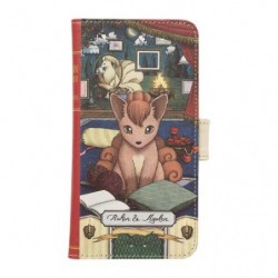 Smartphone Cover Pokemon Vulpix Ninetales Researcher Collection japan plush
