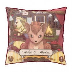 Cushion Pokemon Vulpix Ninetales Researcher Collection japan plush