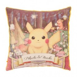 Cushion Pokemon Pikachu Raichu Researcher Collection japan plush