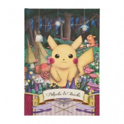 Hard Cover Note Pokemon Pikachu Raichu Researcher japan plush