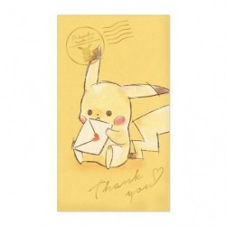 Bag Pikachu number 025 Thank You japan plush
